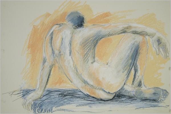 Galerie Sabine Schmidt-Malaj, Aktzeichnung