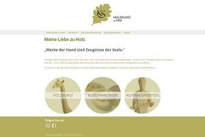 Holzkunst by Kim Schypulla – Website Freising