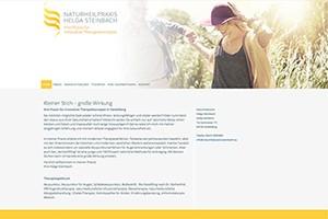 Naturheilpraxis Helge Steinbach – Website Freising