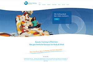 Kanalu Training, Ingrid Berger – Website Freising