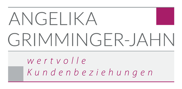 Logo Angelika Grimmet-Jahn, wertvolle Kundenbeziehungen