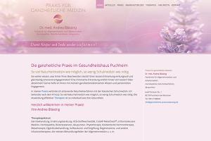 Dr. Andrea Blässing  – Website Freising