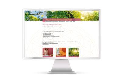Zwei neue Websites für Energiebehandlungen und Heilpraktikerin!