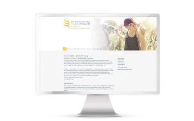 Neue Website Naturheilpraxis