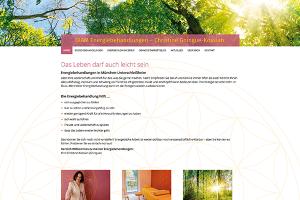 Christine Kossian, Energiebehandlungen – Website Freising