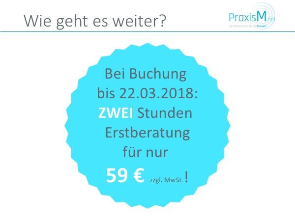 Webinar PraxisM Angebot