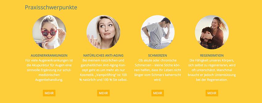 Bildsprache Website Helga Steinbach