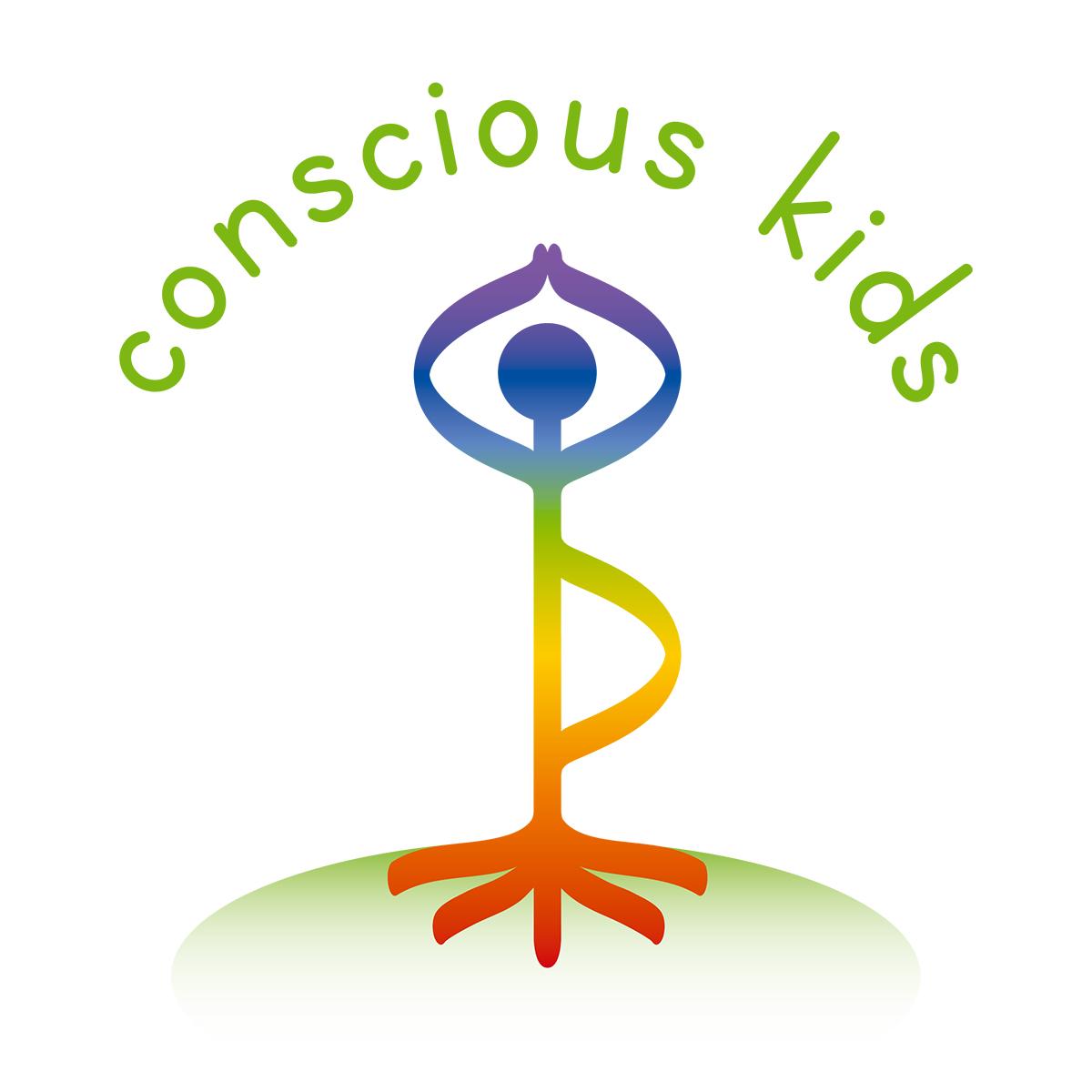 Logo erstellen, Conscious Kids, Yoga und Meditation für Kinder und Jugendliche, Straßlach