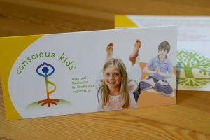 Grafik Design Heilberufe, Corinna Heufer, CONSCIOUS KIDS, Straßlach – Yoga und Meditation für Kinder und Jugendliche
