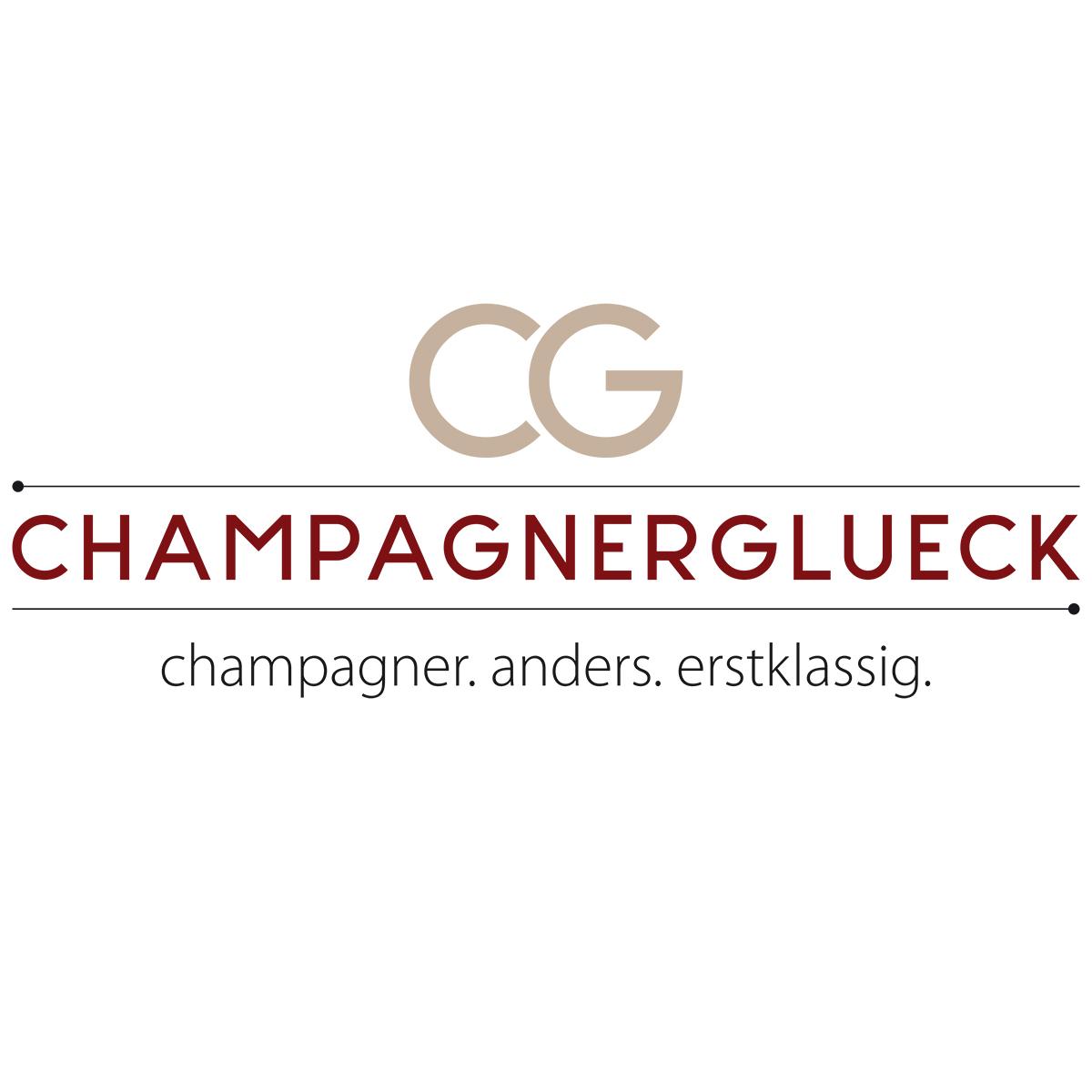 Logo erstellen, Champagnerglück, Import Champagner, München