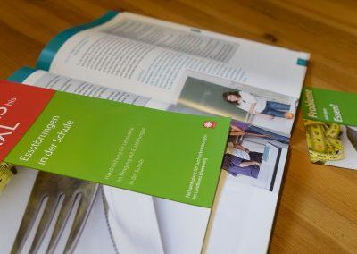 Broschüre Essstörungen, Caritas Ebersberg