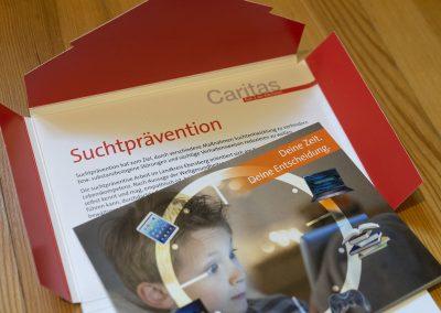 Printmedien Suchtprävention, Caritas Ebersberg