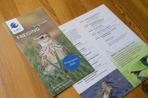 Grafik Design Umwelt & Soziales, Programmflyer, LBV Freising