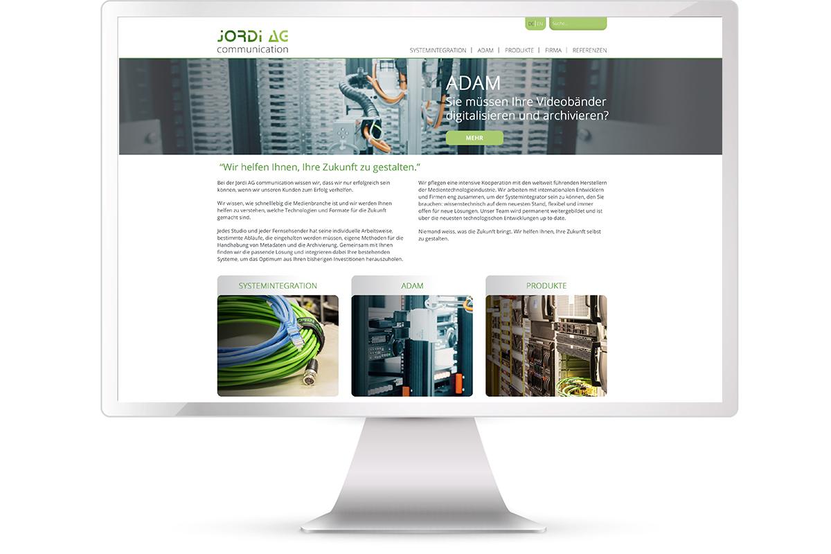 Website erstellen: Jordi Communication; Website: https://www.jordicom.ch