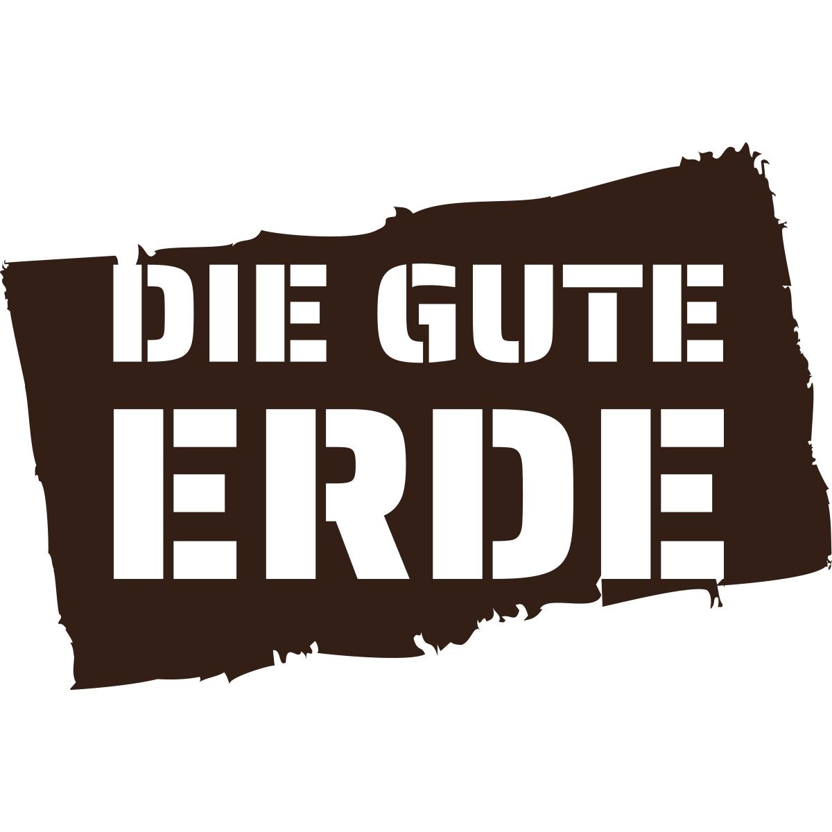Logo erstellen: Die Gute Erde, Terra Preta, Schlehdorf