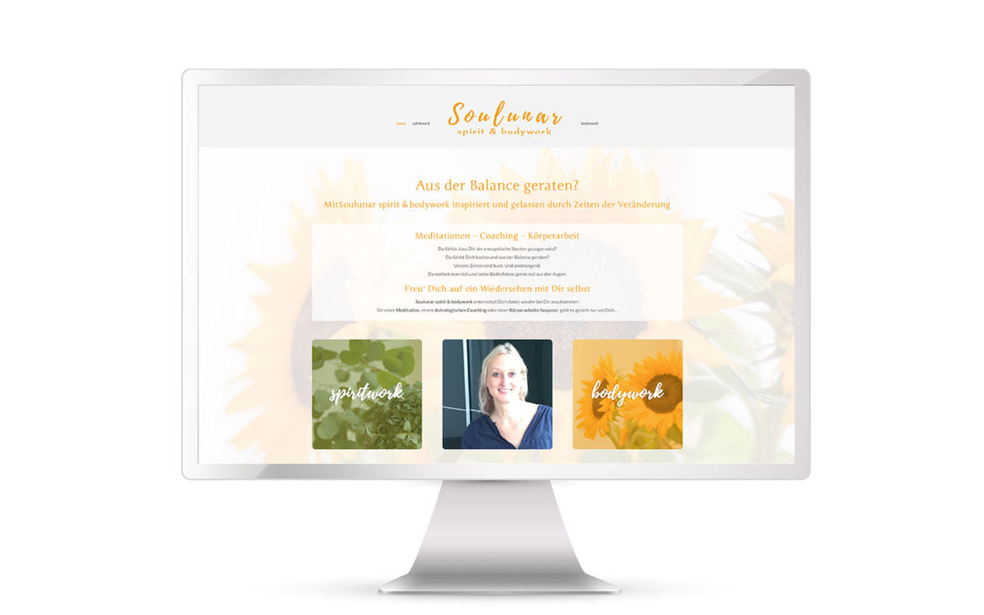 Website Soulunar spirit & bodywork online!