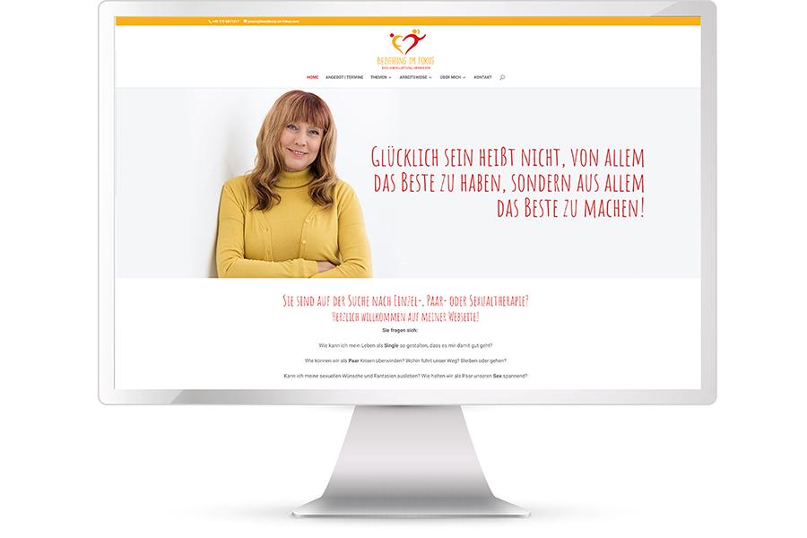 Website erstellen Paar- und Sexualtherapie Dr. Marlies Potthoff, München