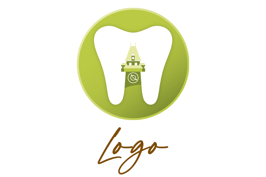 Logo-Design Heilberufe, Zahnarzt Dr. Ungvári, Graz