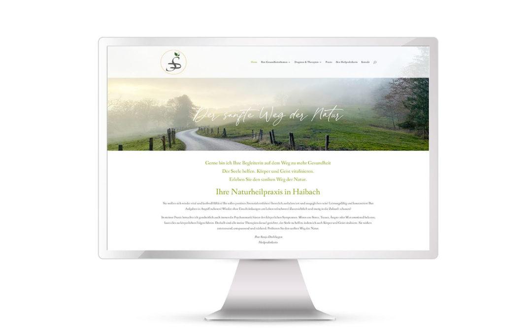 Neue Website für Heilpraktikerin Sonja Drolshagen online