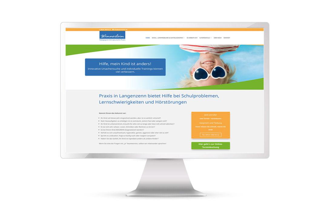Website online: Schul- und Lernberatung Ulrike Winnerlein bei Nürnberg