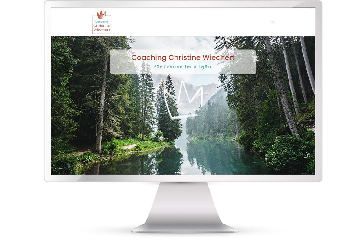 Website erstellen Coaching